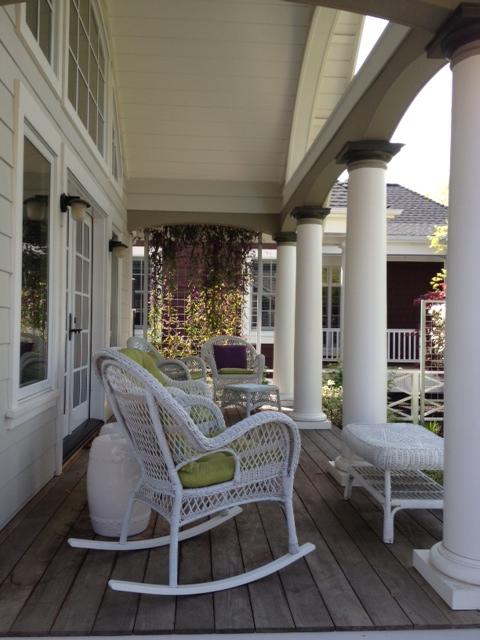 Wisteria porch sonoma landscape design for Sonoma garden designs